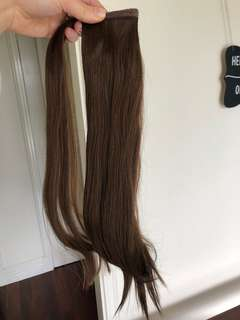 Zala hair extension ponytail