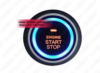 Upgrade Engine Push Start Button For Myvi/ Axia / Alza