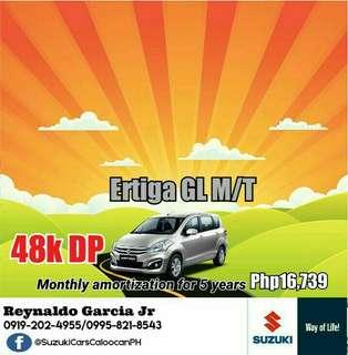 Suzuki Ertiga 48k DP Low Downpayment High Discount Call or Text 0995-821-8543 / 0919-202-4955