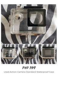 Used Standard Waterproof Case for Action Camera