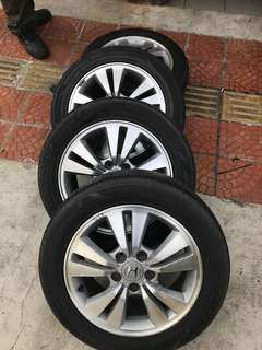 "Honda Accord 16"" Rim"