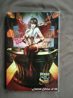Penny For Your Soul Limited tpb signed
