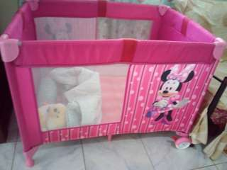 Baby Crib Minnie Mouse (pink)