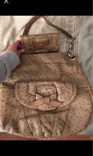 Gucci bag and purse