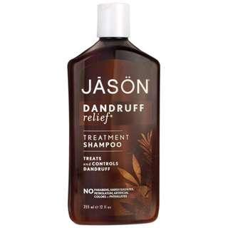 Jason Natural Treatment Shampoo Dandruff Relief 12 fl oz (355 ml)