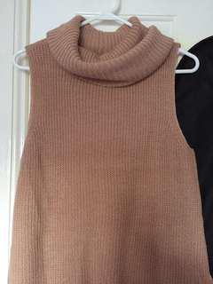 Temt Sleeveless Knit Size L