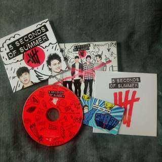 5 Seconds Of Summer Album w/ poster