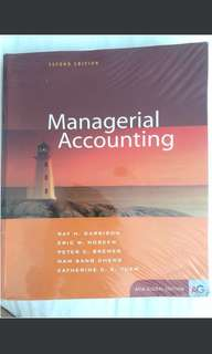 Managerial Accounting (MA for SMU)
