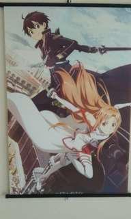 Sword Art Online Wall Scroll