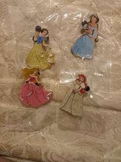 迪士尼襟章  公主系列