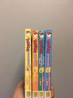 BUNDLE Pokemon Adventures Comic Books