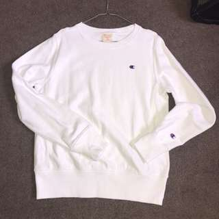 Champion Sweater White