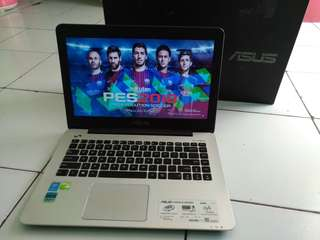 Laptop Design Game Asus A455L Core i3 Ram 4 Hdd 1000 Nvidia 2