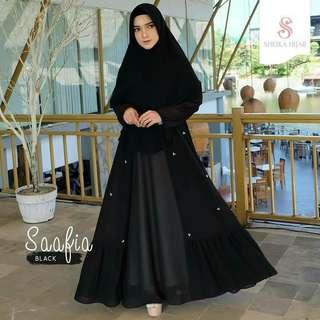 Dijual dress sheika hijab safiaa series size xl