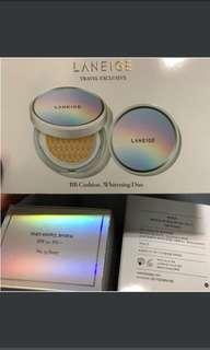 🚚 現貨💥蘭芝水聚光淨白氣墊粉霜SPF50+ PA+++