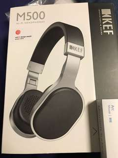 Brand New KEF M500 Headphones (Free New Bluetooth Speakers and Pen drive)