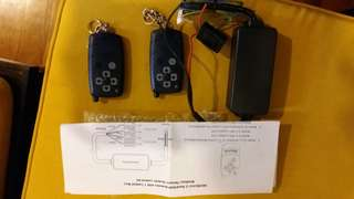 Remote control for anchor & thrusters