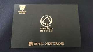 (極罕有品)前田知洋hotel new grand90週年公演限量版撲克連簽名一盒
