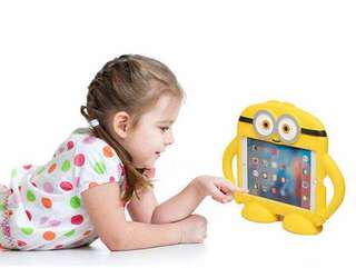 🏆Minion Kids iPad Mini Case - Shockproof / Drop friendly
