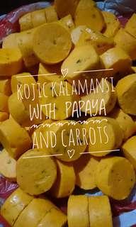 Kojic Kalamansi with Papaya and Carrots Soap