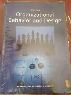 (with Bibles!) NTU NBS Yr 1 AB1601 Organizational Behavior