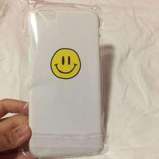 🌻BRANDNEW🌻 Iphone 6+ White Smiley Hard Case