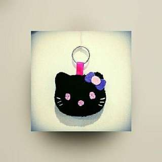 Hello Kitty Inspired Keychain/Bag Accessory