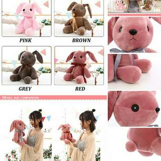 Cute Soft Bunny Plush Toys Pillow