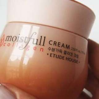 !!REPRICED!!Authentic etude house collagen moistfull FROM 1k TO 299