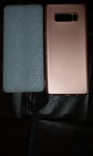 三星Samsung軟殼 Note 8玫瑰金