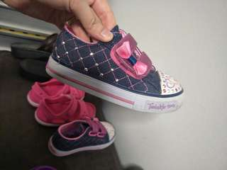 Kids Shoes toddler girl shoes skechers twinkle toes