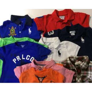 Pre-loved Boys 9-12 months Clothes Bundle