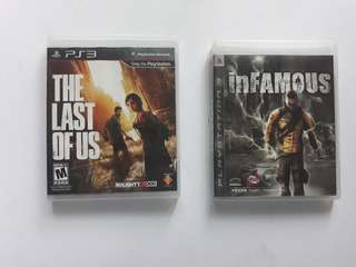 The Last of Us and inFamous 2-in-1 Sale!