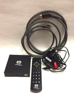MyTV super 機頂盒 (不包上台費) 95% 新,連高質HDML 線,火牛及遙控器