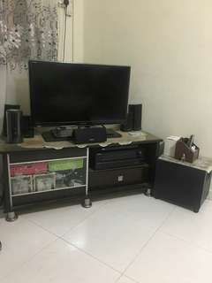 Tv samsung 32 inch & home teater