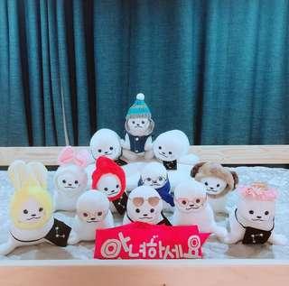 🚚 Wanna one 60元禮包