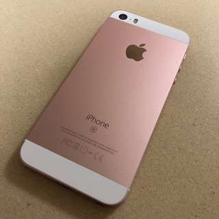 Iphone se SE 64gb玫瑰金 rose gold Zp/A