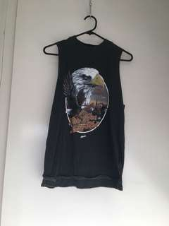 Afends eagle top size 8