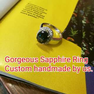 Customized Rings in Gold dianonds and precious stones. Prices pls ask within