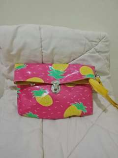 Pink Pineapple Pouch