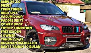 BMW X6 SAMBUNG BAYAR
