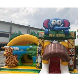 AWESOME BOUNCY CASTLE SAFARI ( INDOOR/OUTDOOR)