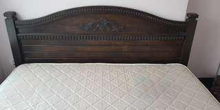 Teak Wood King size bed frame