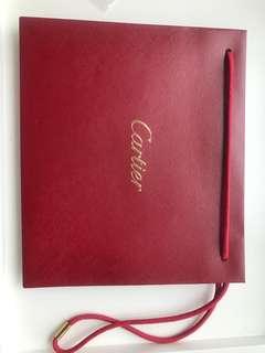 Cartier paper bag 紙袋