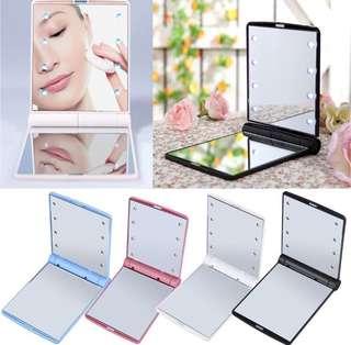 🚚 [IN STOCKS] LED foldable pocket mirror