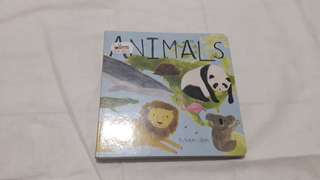 Animals baby boardbook Katie Wilson BBW JKT 2018 Buku impor anak children books