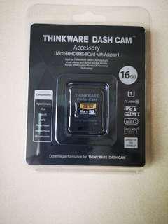 Thinkware Dash Cam mini SD care - 16GB