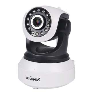 1000. IP Camera, ieGeek 720P HD WiFi IP Cam Surveillance Security System Video Recording Sonic Recognition P2P Pan Tilt Remote Motion Detect Alert With Two-Way Audio Support 64GB Micro SD