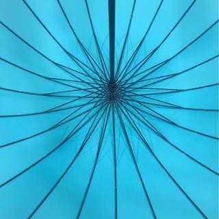 超強 特大24骨雨傘 多種 顏色 !!