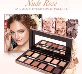 (READY STOCK) BH COSMETICS - Nude Rose 12 Color Eyeshadow Palette